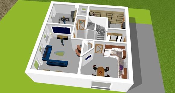 Ansichten 02 - Erdgeschoss